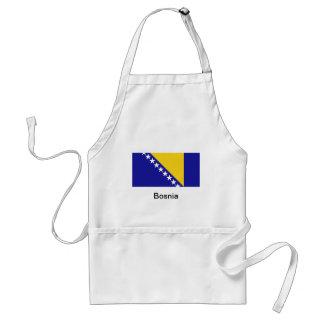 La bandera de Bosnia y Herzegovina Delantal