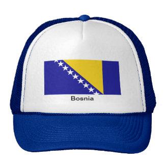 La bandera de Bosnia y Herzegovina Gorros Bordados