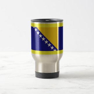 La bandera de Bosnia y Herzegovina Taza De Café