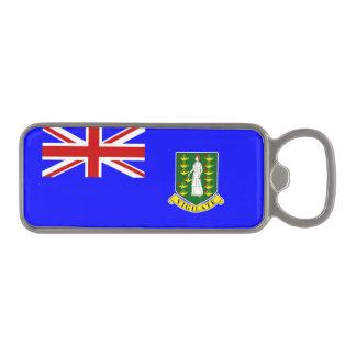 La bandera de British Virgin Islands Abrebotellas Magnético