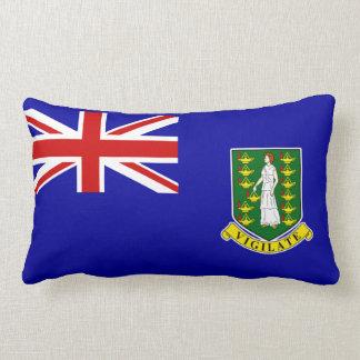 La bandera de British Virgin Islands Almohada