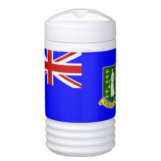 La bandera de British Virgin Islands Enfriador De Bebida Igloo