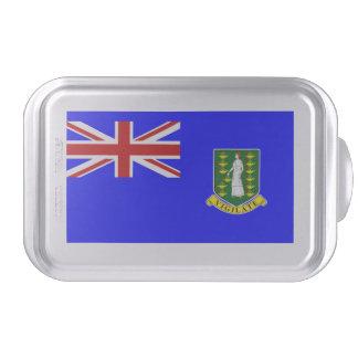 La bandera de British Virgin Islands Molde Para Pasteles