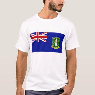 La bandera de British Virgin Islands Playera
