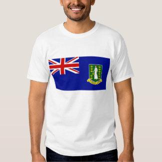 La bandera de British Virgin Islands Poleras
