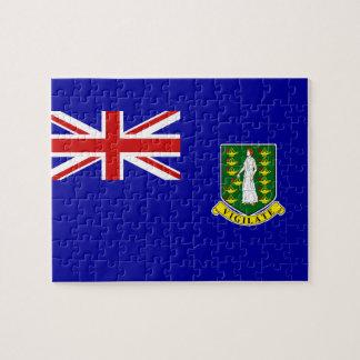 La bandera de British Virgin Islands Puzzles
