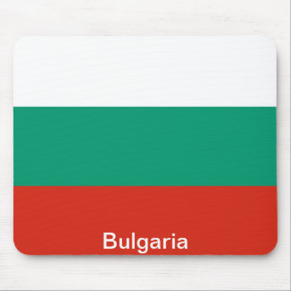La bandera de Bulgaria Mousepad
