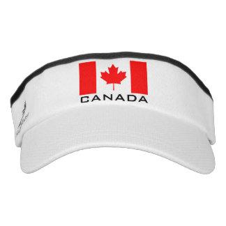 La bandera de Canadá se divierte el gorra del Visera