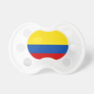 La bandera de Colombia Chupete De Bebé