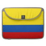 La bandera de Colombia Funda Para Macbook Pro