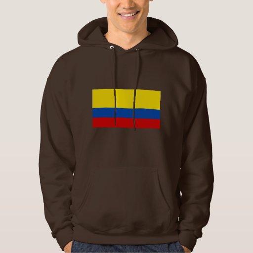 La bandera de Colombia Jersey Encapuchado