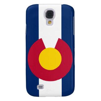 La bandera de Colorado Funda Para Galaxy S4