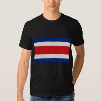 La bandera de Costa Rica Remera