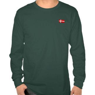 La bandera de Dinamarca Camisetas