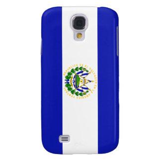 La bandera de El Salvador. Funda Samsung S4