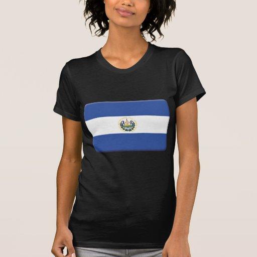 La bandera de El Salvador PERSONALIZA Camiseta