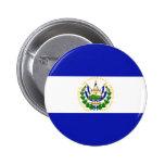 La bandera de El Salvador. Pins