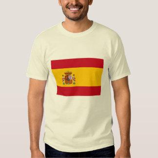 La bandera de España Camisas