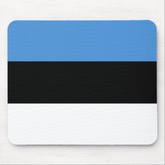 La bandera de Estonia Alfombrilla De Raton