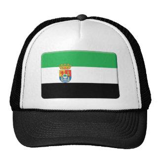 La bandera de Extremadura PERSONALIZA Gorras De Camionero
