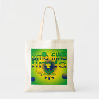 La bandera de Filha Linda el Brasil del Uma colore Bolsa