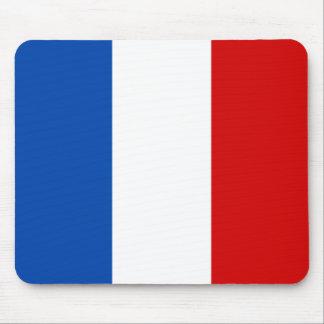 La bandera de Francia Tapetes De Ratones