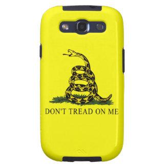 La bandera de Gadsden no pisa en mí Samsung Galaxy S3 Cobertura