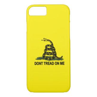 La bandera de Gadsden no pisa en mí Funda iPhone 7