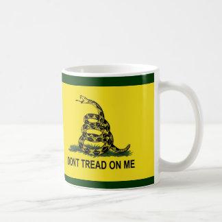 La bandera de Gadsden no pisa en mí Taza De Café