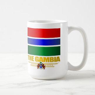 La bandera de Gambia Taza De Café