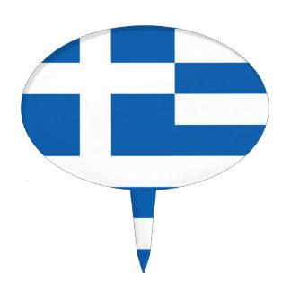 La bandera de Grecia Decoración De Tarta