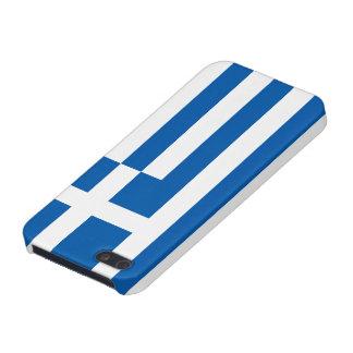 La bandera de Grecia iPhone 5 Cárcasas