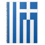 La bandera de Grecia Libretas Espirales