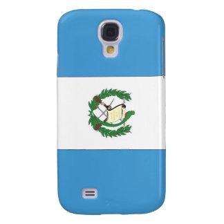 La bandera de Guatemala Funda Para Galaxy S4