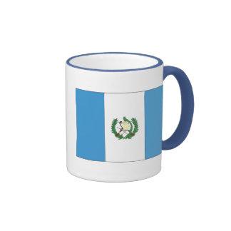 La bandera de Guatemala Taza A Dos Colores