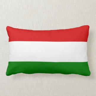 La bandera de Hungría Cojin