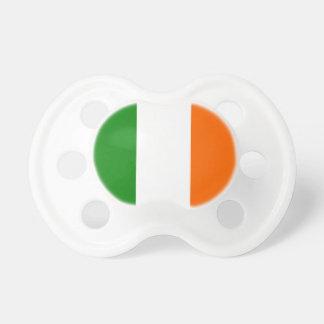 La bandera de Irlanda Chupetes Para Bebes
