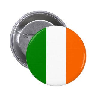 La bandera de Irlanda Pin Redondo De 2 Pulgadas