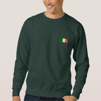 La bandera de Irlanda Pulóver Sudadera