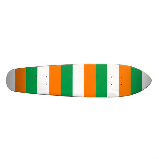 """La bandera de Irlanda, tricolor irlandés Patineta 7 1/4"""""""