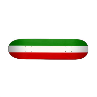 """La bandera de Italia Patineta 7 1/8"""""""