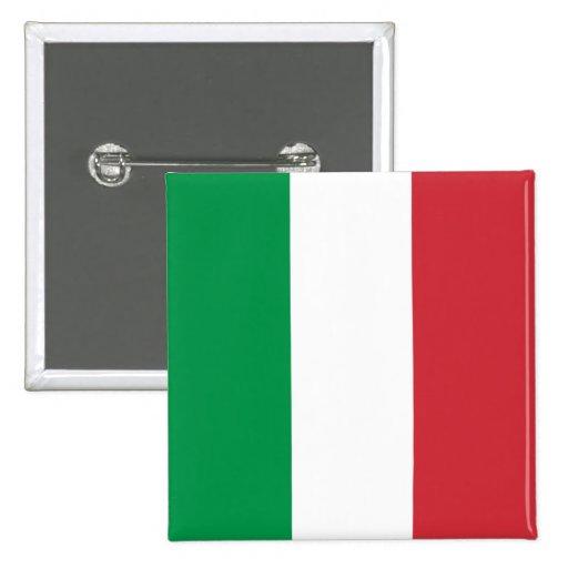 La bandera de Italia Pin