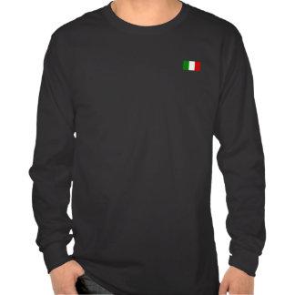 La bandera de Italia Camisetas