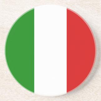 La bandera de Italia Posavaso Para Bebida