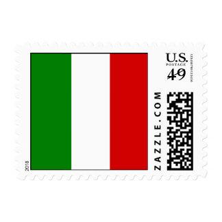 La bandera de Italia Envio