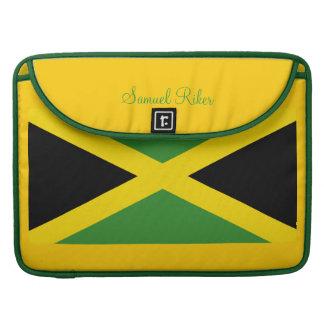 La bandera de Jamaica consiguió la mala hierba Fundas Para Macbook Pro