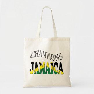 La bandera de Jamaica defiende el bolso Bolsas Lienzo