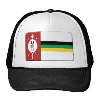 La bandera de KwaZulu PERSONALIZA Gorros