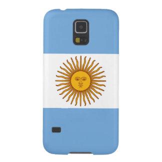 La bandera de la Argentina Funda Galaxy S5