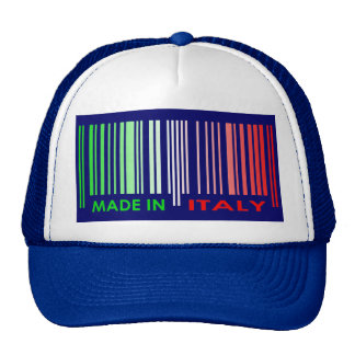 La bandera de la clave de barras colorea el diseño gorra